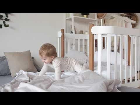 Happy Baby кровать-трансформер Mommy Lux