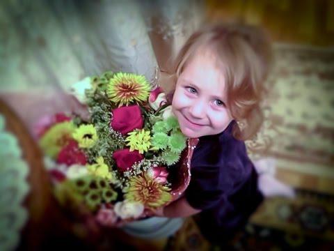 Поздравление дочке от мамы на День рождения Слайд-шоу