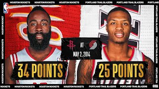 2014 Western Conference Playoffs: Houston Rockets @ Portland Trail Blazers #NBATogetherLive