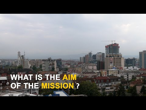 What is the aim of the mission?