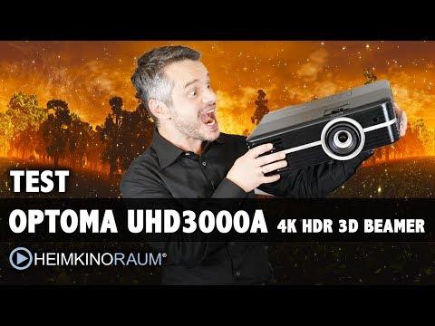 Test: Optoma UHD3000A mit 4K HDR 3D - Klassenbester Beamer unter 2000 Euro!