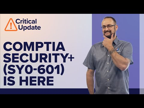 New CompTIA Security+ (SY0-601) Exam Update Overview - YouTube