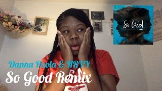 Danna Paola & HRVY   So Good Remix (Audio) Reaction   Roadies 'R' Us Reaction #1