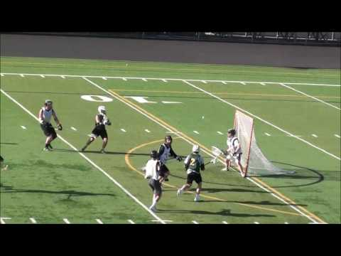 Ortloff with 2 Apples in Summer LAX '17! Gallagher & Jackson goals!