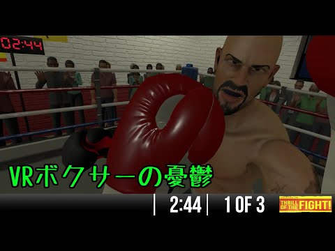 [The Thrill of the Fight]VRボクサーの憂鬱 #3