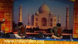 Fusion music by Ganesh and Kumaresh at Nishagandhi- III