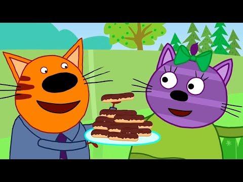 Три Кота | Серии про вкусную еду | Сборник Горчицы | Мультфильмы для детей 🍰🍪🍩