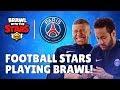 Paris Saint germain Stars Play Brawl Stars