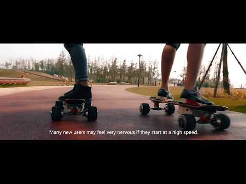 Skateboarding started as a movement- Airwheel M3