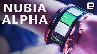 ZTE nubia Alpha Hands-on at MWC 2019: A wearable, flexible smartphone