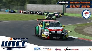 eSports WTCC - Saisonlauf 1- Monza GP - [R3E] (deutsch)