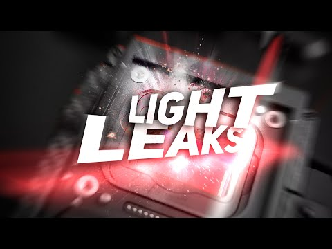 Create Your Own Light Leaks - in 60 seconds!