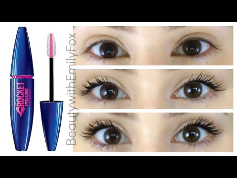 First Impression: Maybelline The Rocket Mascara Review 2014