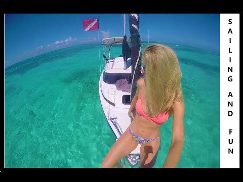 Aqua Ocean, Snorkeling tips, private isle, more SHARKS, inked by a cuttlefish fish! Sailing and Fun