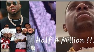 Boosie Reacts To QC Throwing Half A Million In The Club! With QC Pee At Stripper Bowl Offset 2Chainz