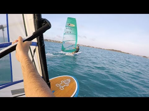 Bermuda Windsurfing – Kona One & Starboard Windfoiling evening tryout Session