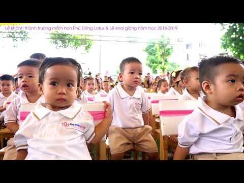 Lễ khánh thành trường mầm non Phú Đông Lotus & Lễ khai giảng năm học 2018-2019
