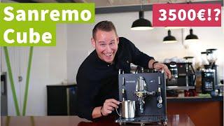 San Remo Cube - Teuerste Zweikreiser-Espressomaschine auf dem Markt?! | Review