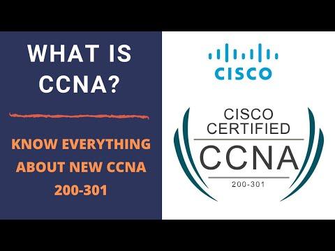 New Cisco CCNA Certification | 200-301 CCNA Exam Details ...