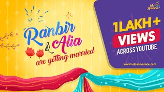 Best Quirky Indian Wedding Invitation Video | Save The Date Digital ECard By Lets Announce