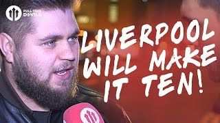 Howson Liverpool Will Make It Ten  Manchester United 20 Hull City  FANCAM