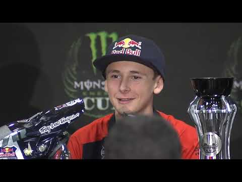 Monster Energy Cup - Super Mini - Post Race Press Conference