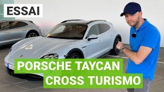 Essai Porsche Taycan Cross Turismo : le meilleur break du monde ?