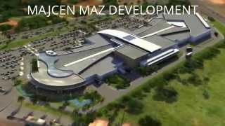 preview picture of video 'MAJCEN MAZ DEVELOPMENT   Airport Center Ljubljana   Slovenia'