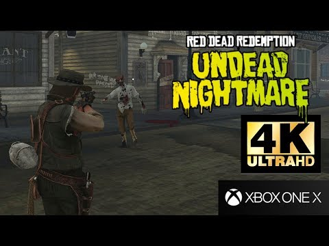 Gameplay de l'extension Undead Nightmare sur Xbox One X de Red Dead Redemption