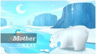 Mother | REST project | Relax, Piano, Meditation, Music, ASMR, Peace, Angel, Illustration