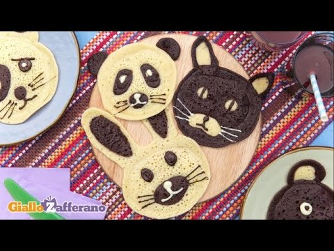 Video Animal pancakes - kid friendly recipes