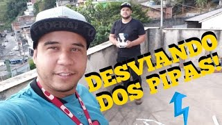 PHANTOM E SPARK VOANDO PERTO DOS PIPAS! Participação (DRONEZEIRA) #spark #dji #phantom #dronedavila