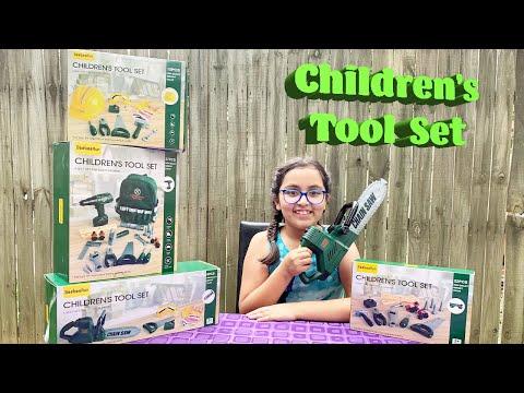 Children's Tool Set by BeebeeRun