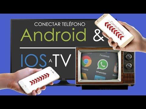 Conectar Teléfono Android o iOS a TV ANTIGUA o NUEVA | Como VER pantalla de Celular en Televisión