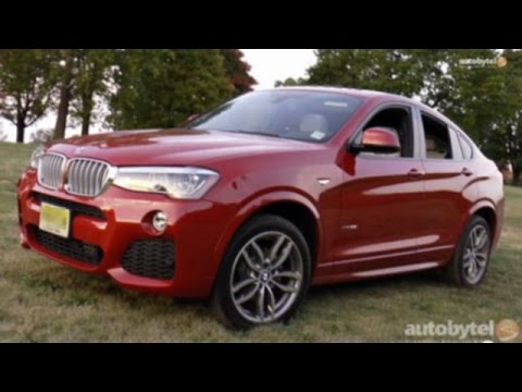 2015 BMW X4 xDrive35i Test Drive and Video Review