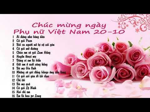 Hát Về Ngày Phụ Nữ Việt Nam 20-10
