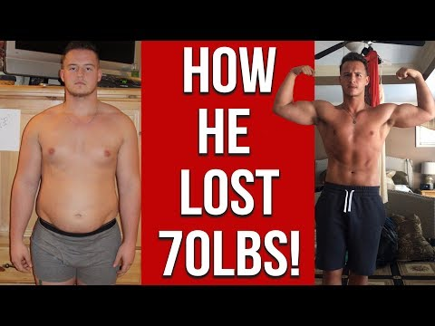 Video Amazing Weight Loss Transformation - How He Lost 70 Lbs.