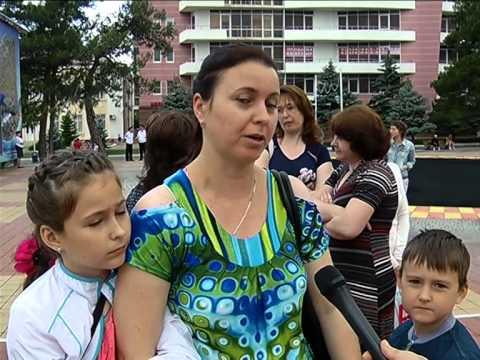 """Авторская программа Надежды Цыгановой: """"В нашем городе - Междунродный день детей"""""""