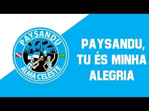 """Banda Alma Celeste -  Paysandu, tu és minha alegria [MÚSICA LEGENDADA]"" Barra: Alma Celeste • Club: Paysandu"