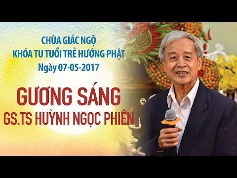 Gương Sáng 12: GS. TS. Huỳnh Ngọc Phiên