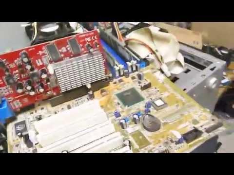 Placa de vídeo ATI AGP 8X 9250 - 256MB