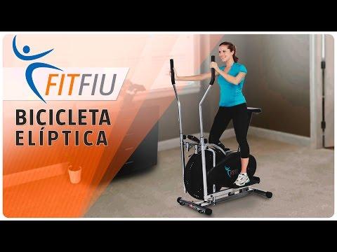 Bicicleta estática elíptica Fitfiu Fitness Steps