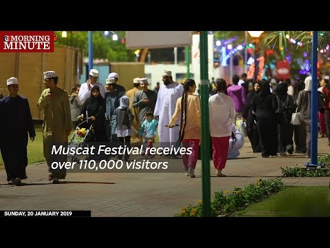 Muscat Festival receives over 110,000 visitors