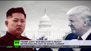 US military 'ready if necessary': Trump cancels meeting hours after Kim destroys nuclear site