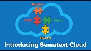 Vidéo de Sematext Cloud