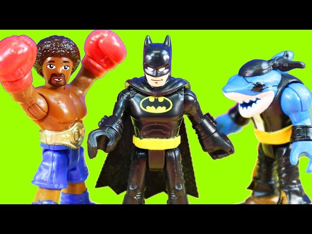 Imaginext Series 9 Blind Bag Toys With Shark Figure Join The Justice League Batman And Villain Team
