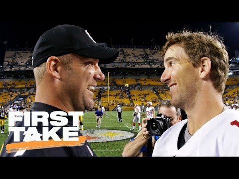 First Take reacts to Ben Roethlisberger's Eli Manning comments | First Take | ESPN