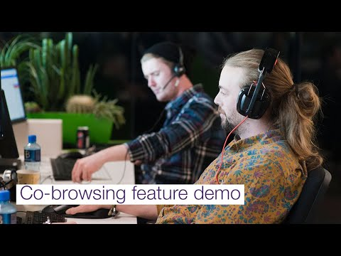 Image cover of video:  The TELUS Cloud Contact Center co-browse feature enables your agents to share screens with customers. It's completely browser-based, meaning no software required.