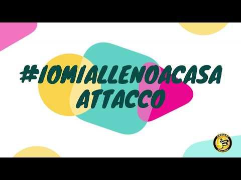Preview video #iomiallenoacasa #attacco