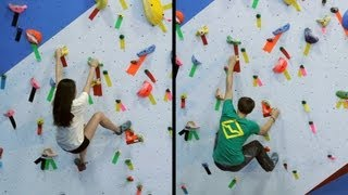 Solving Problems Based on Body Type | Rock Climbing